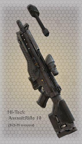 Hi-Teck AssaultRifle 10