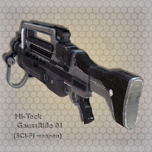 Hi-Teck GaussRifle 01