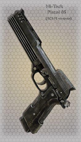 Hi-Teck Pistol 05