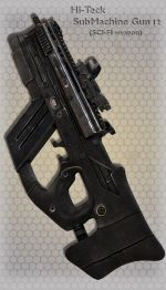 Hi-Teck SubMachine Gun 12