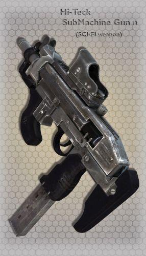 Hi-Teck SubMachine Gun 13