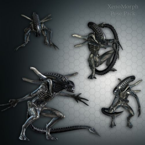 XenoMorph Pose Pack