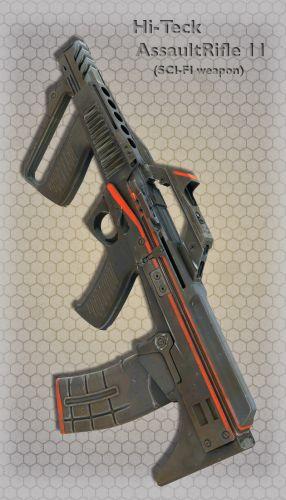 Hi-Teck AssaultRifle 11