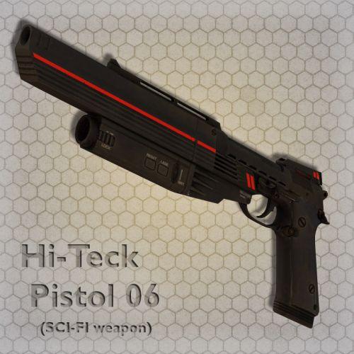 Hi-Teck Pistol 06