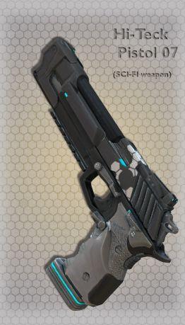 Hi-Teck Pistol 07