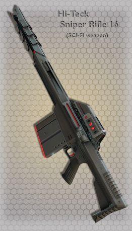 Hi-Teck Sniper Rifle 16