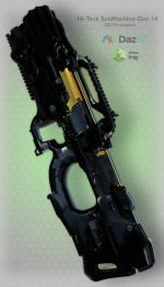 Hi-Teck SubMachine Gun 14