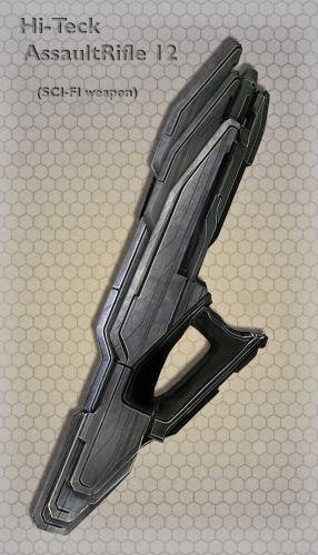 Hi-Teck AssaultRifle 12