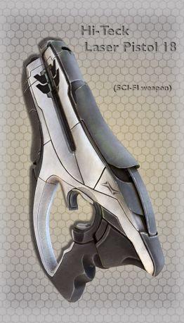 Hi-Teck Laser Pistol 18