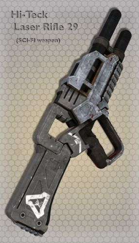 Hi-Teck Laser Rifle 29