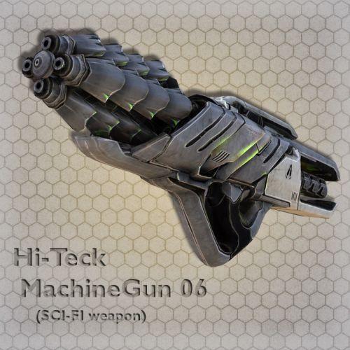 Hi-Teck MachineGun 06