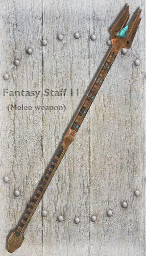 Fantasy Staff 11