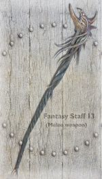 Fantasy Staff 13