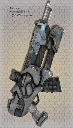 Hi-Teck AssaultRifle 13