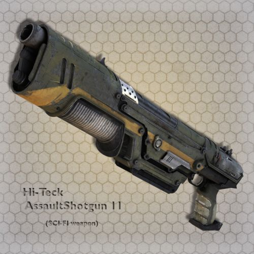 Hi-Teck AssaultShotgun 11