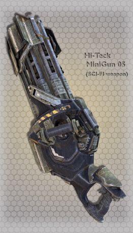 Hi-Teck MiniGun 05