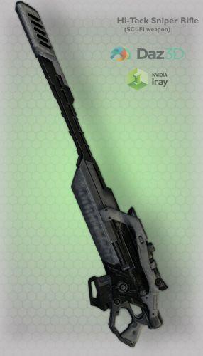 Hi-Teck Sniper Rifle 17