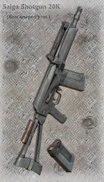 Saiga Shotgun 20K
