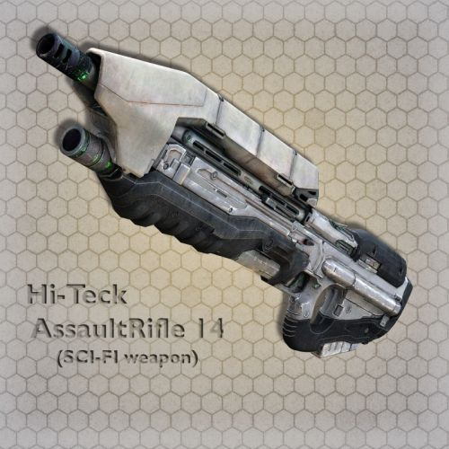 Hi-Teck AssaultRifle 14