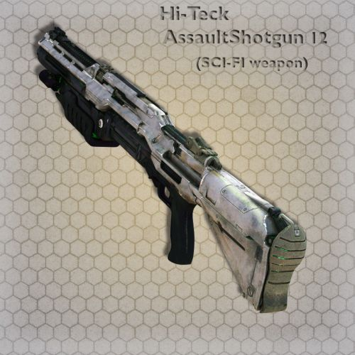 Hi-Teck AssaultShotgun 12