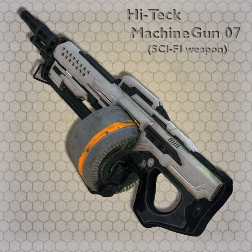 Hi-Teck MachineGun 07