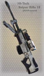 Hi-Teck Sniper Rifle 18