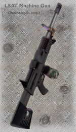 LSAT Machine Gun