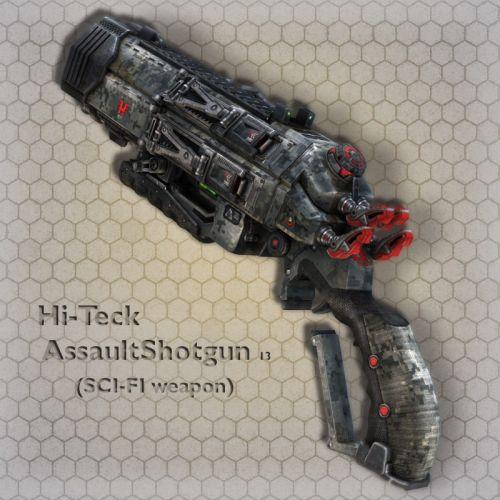 Hi-Teck AssaultShotgun 13