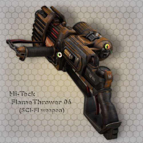 Hi-Teck FlameThrower 06