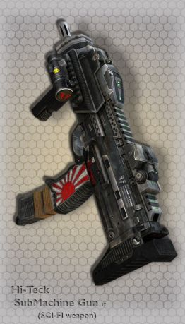 Hi-Teck SubMachine Gun 17