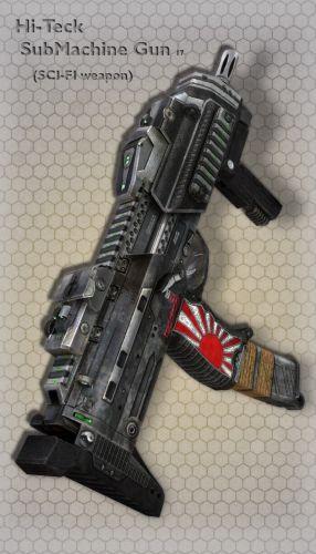 Hi-Teck SubMachine Gun 17
