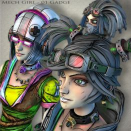 Mech Girl-01 Gadge