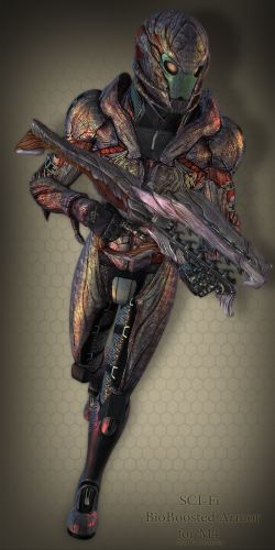 SCI-Fi BioBoosted Armor for M4