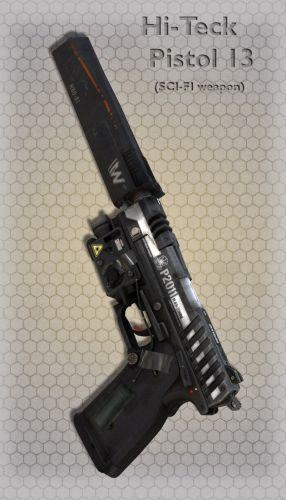 Hi-Teck Pistol 13