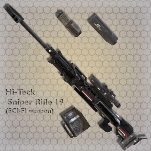 Hi-Teck Sniper Rifle 19