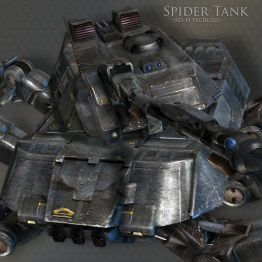 SCI-FI Spider Tank