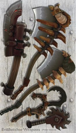 EvilButcher Weapons