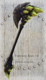 Fantasy Axe 18