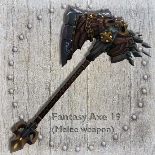 Fantasy Axe 19