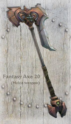 Fantasy Axe 20