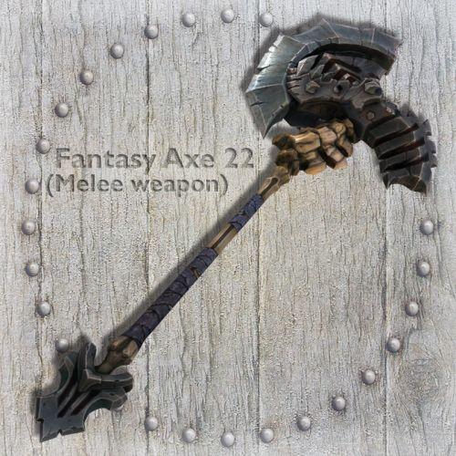 Fantasy Axe 22