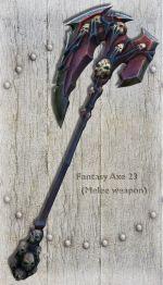 Fantasy Axe 23