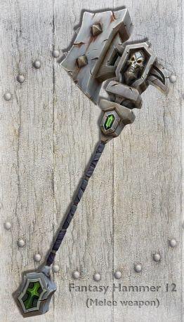 Fantasy Hammer 12