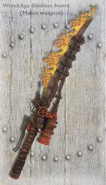 WreckAge Shishkes Sword
