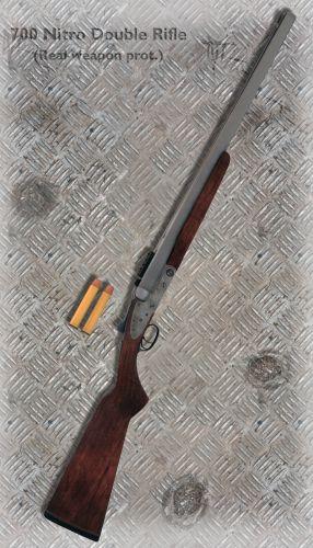 700 Nitro Double Rifle