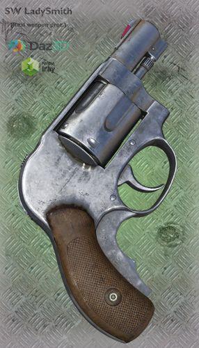 SW LadySmith - Claire Redfild Revolver