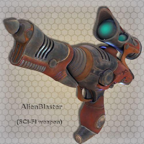 AlienBlaster