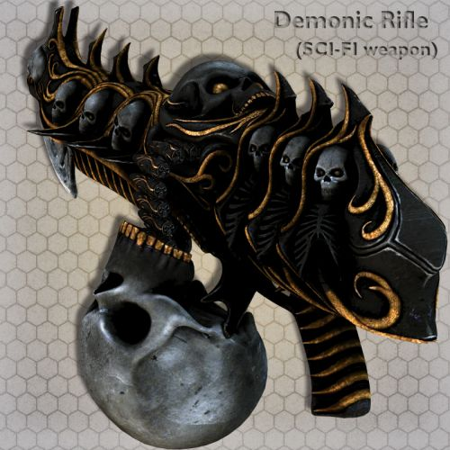 Demonic Rifle
