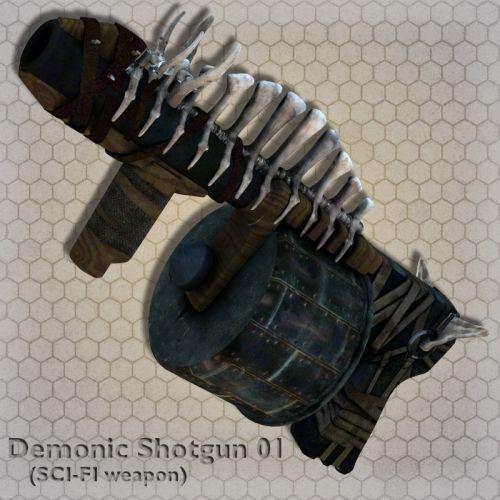 Demonic Shotgun 01