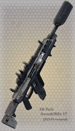 Hi-Teck AssaultRifle 17
